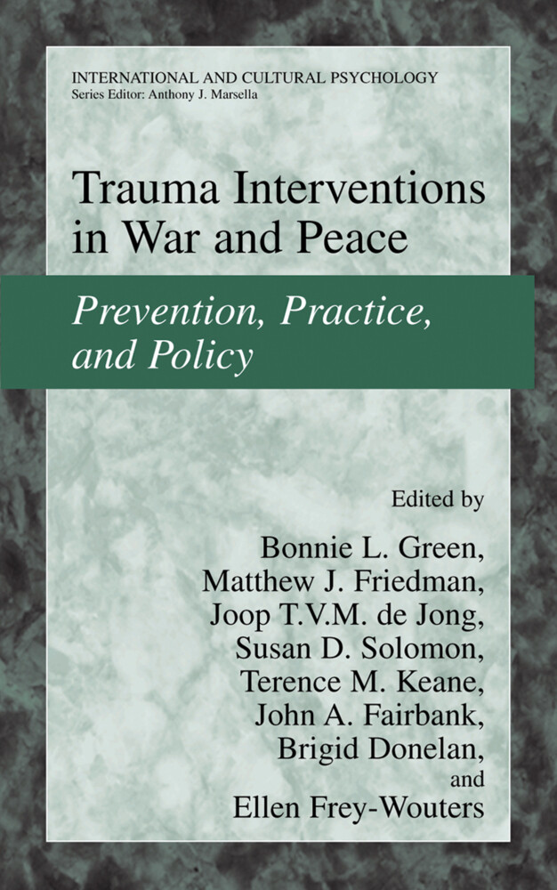 Trauma Interventions in War and Peace als Buch