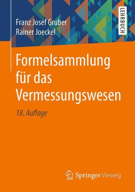 Formelsammlung für das Vermessungswesen als Buch