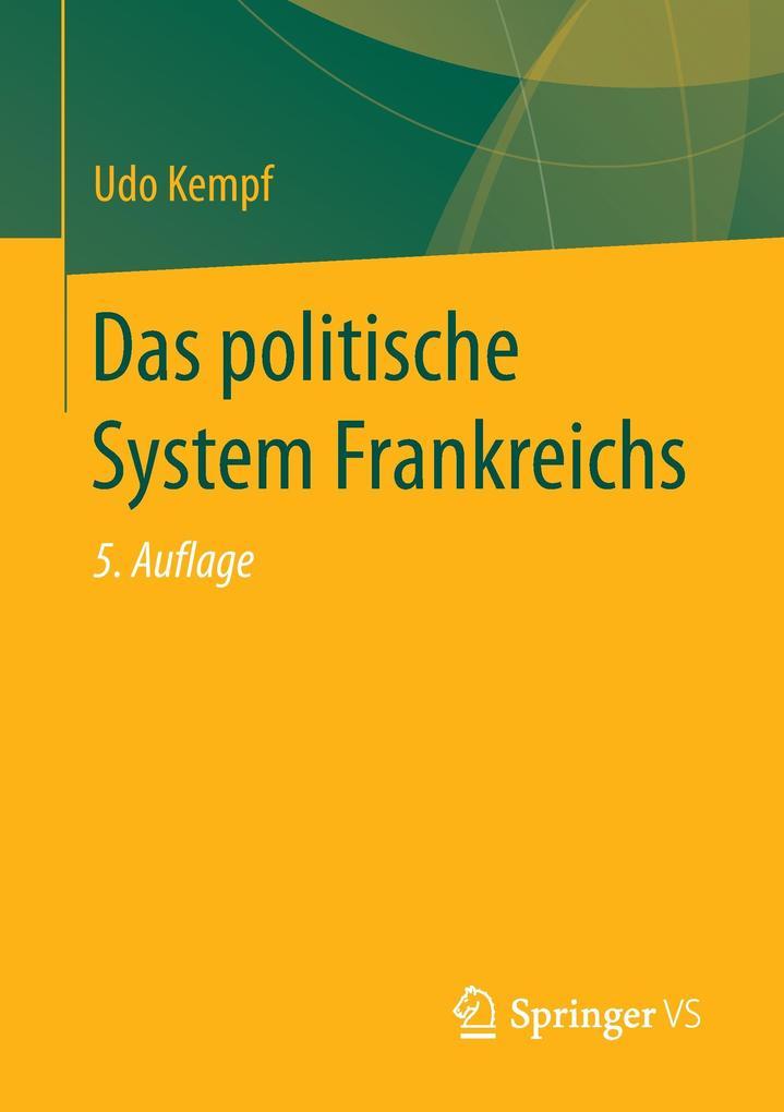 Das politische System Frankreichs als Buch von ...