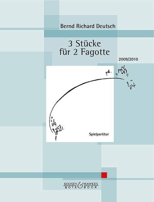 3 Stücke für 2 Fagotte als Buch von Bernd Richa...