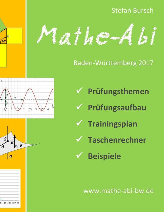 Mathe-Abi Baden-Württemberg 2017 als Buch von S...