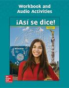 Asi Se Dice! Level 1, Workbook and Audio Activities