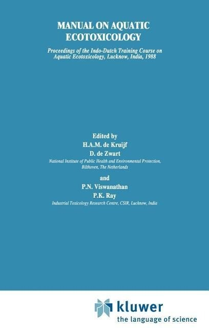 Manual on Aquatic Ecotoxicology als Buch