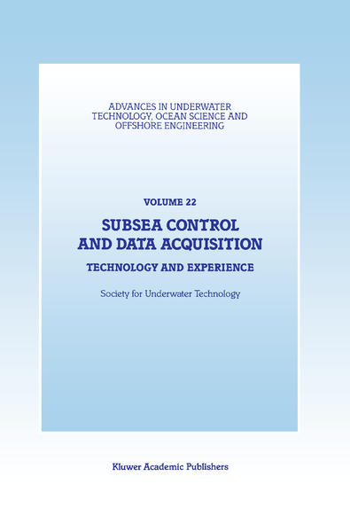 Subsea Control and Data Acquisition als Buch