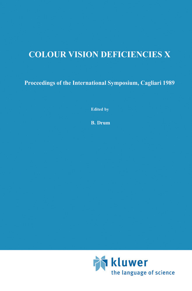 Colour Vision Deficiencies X als Buch