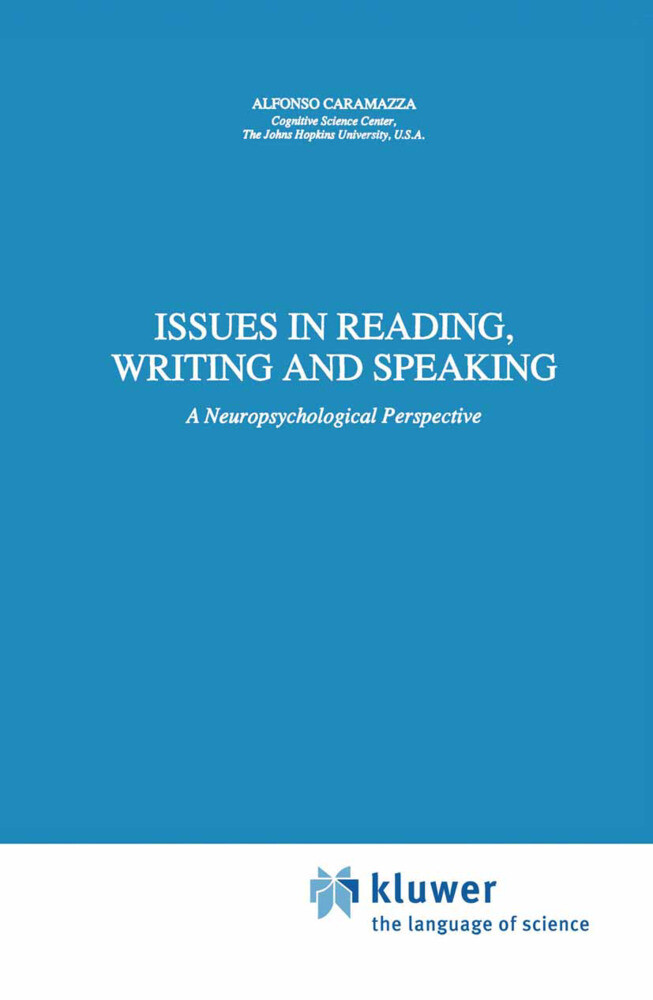Issues in Reading, Writing and Speaking als Buch