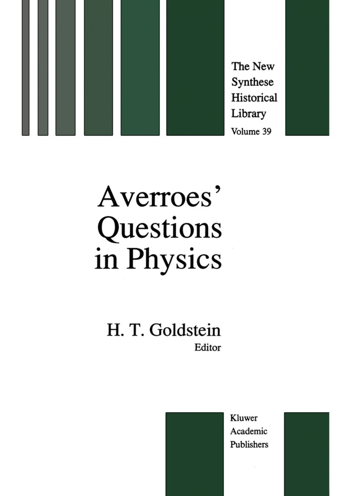 Averroes' Questions in Physics als Buch