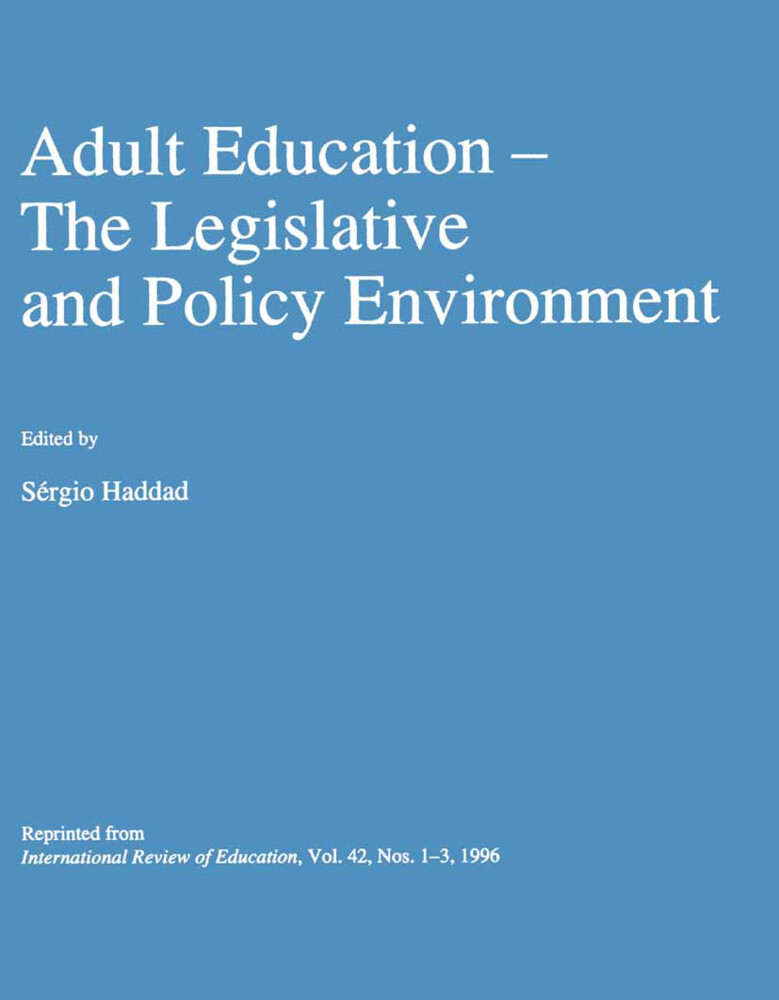 Adult Education als Buch