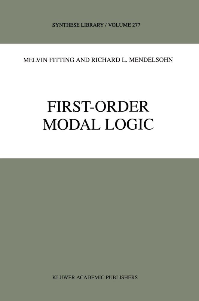 First-Order Modal Logic als Buch