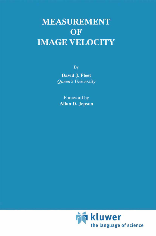 Measurement of Image Velocity als Buch