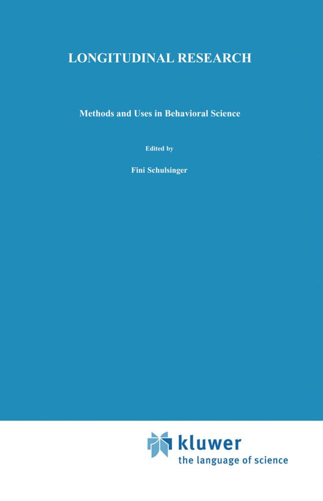 Longitudinal Research als Buch