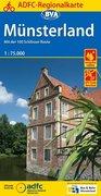 ADFC-Regionalkarte Münsterland 1 : 75 000