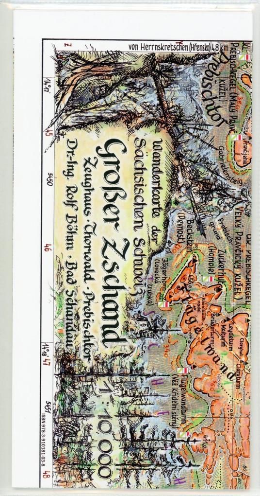 Großer Zschand 1 : 10 000 als Buch von Rolf Böhm