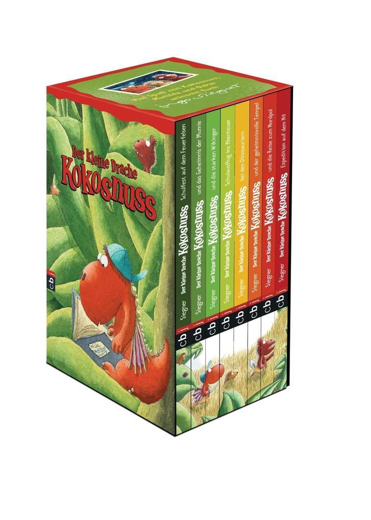 Der kleine Drache Kokosnuss - Geschenkschuber als Buch