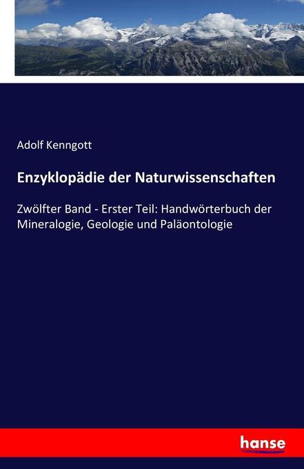 Enzyklopädie der Naturwissenschaften als Buch v...