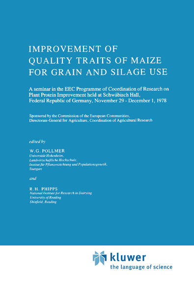Improvement of Quality Traits of Maize for Grain and Silage Use als Buch