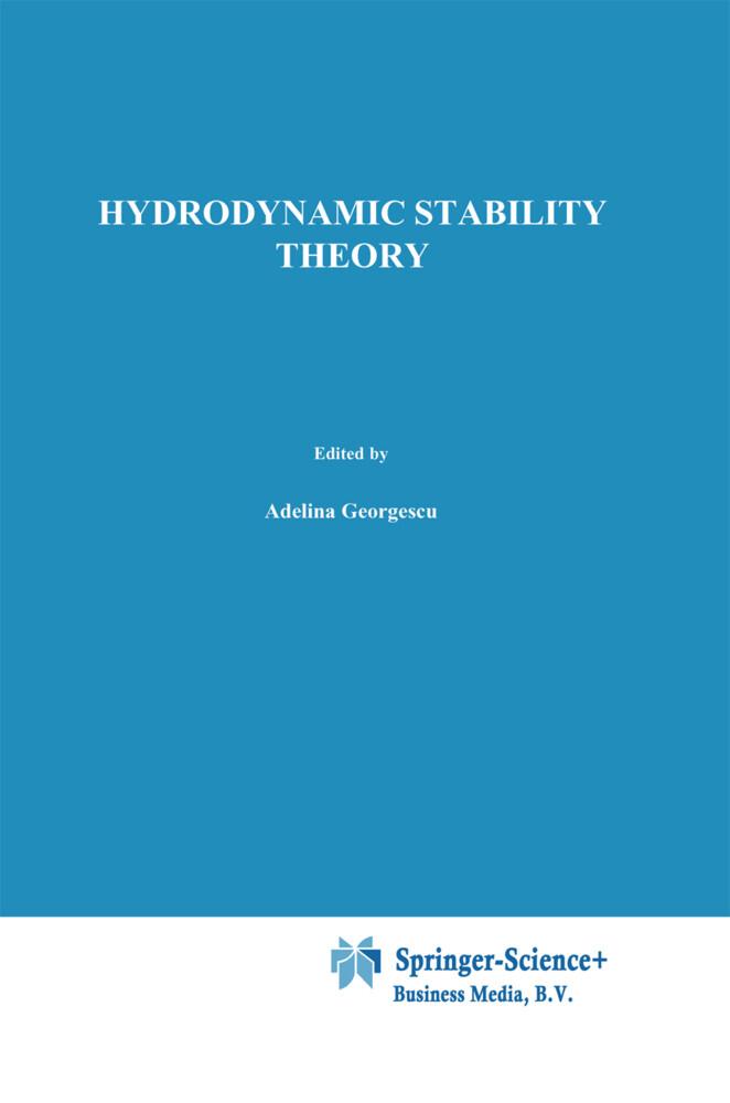 Hydrodynamic stability theory als Buch