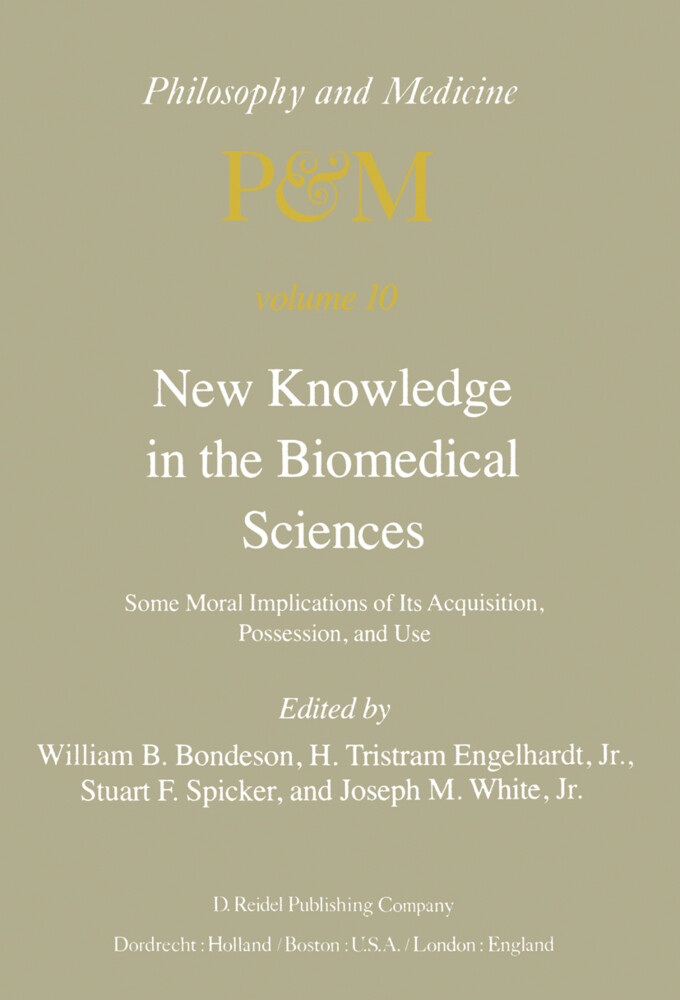 New Knowledge in the Biomedical Sciences als Buch