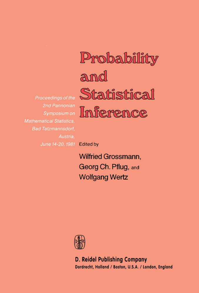 Probability and Statistical Inference als Buch