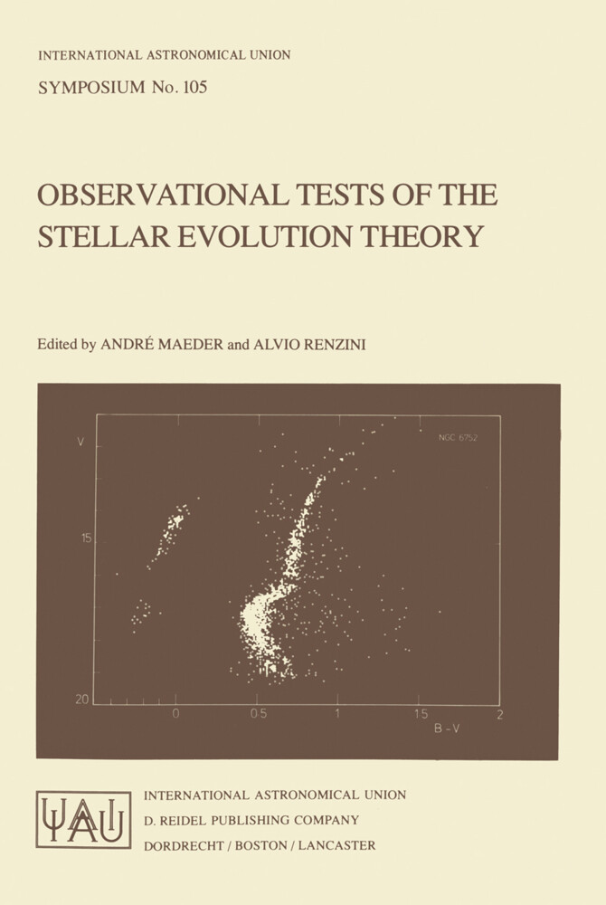 Observational Tests of the Stellar Evolution Theory als Buch