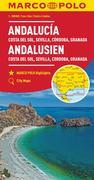 MARCO POLO Karte Andalusien, Costa del Sol, Sevilla, Cordoba, Granada 1:200 000