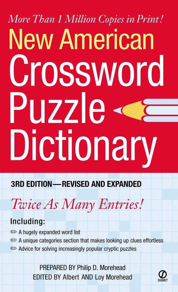 New American Crossword Puzzle Dictionary als Taschenbuch