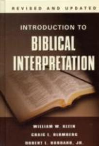Introduction to Biblical Interpretation als Buch