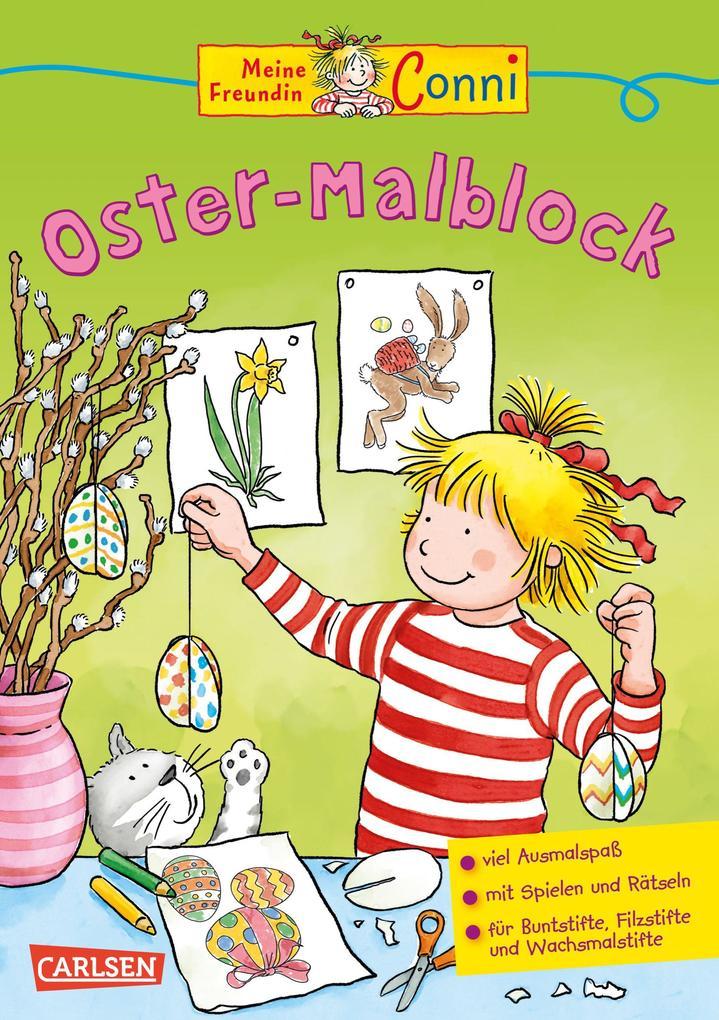 Conni - Oster-Malblock als Buch (kartoniert)