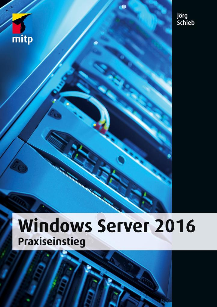 Windows Server 2016 als Buch (kartoniert)