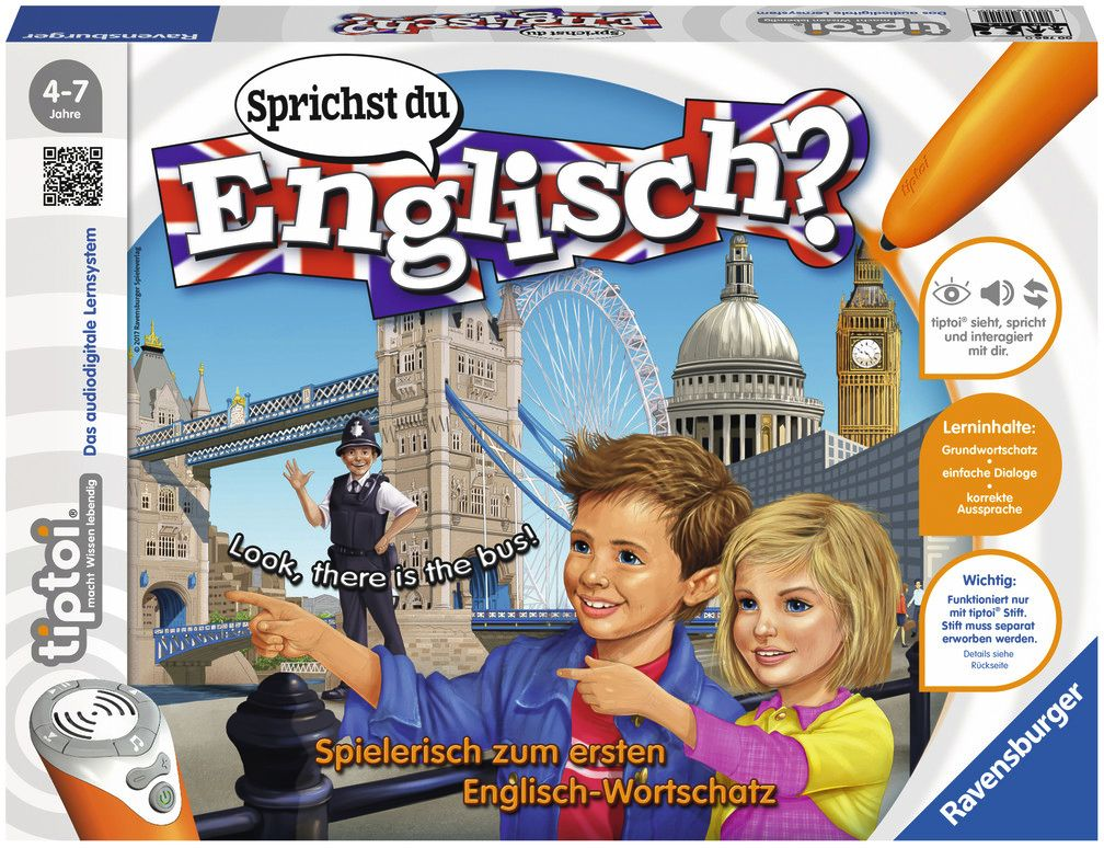 Ravensburger Spiel - tiptoi - Sprichst du Englisch? als Spielwaren