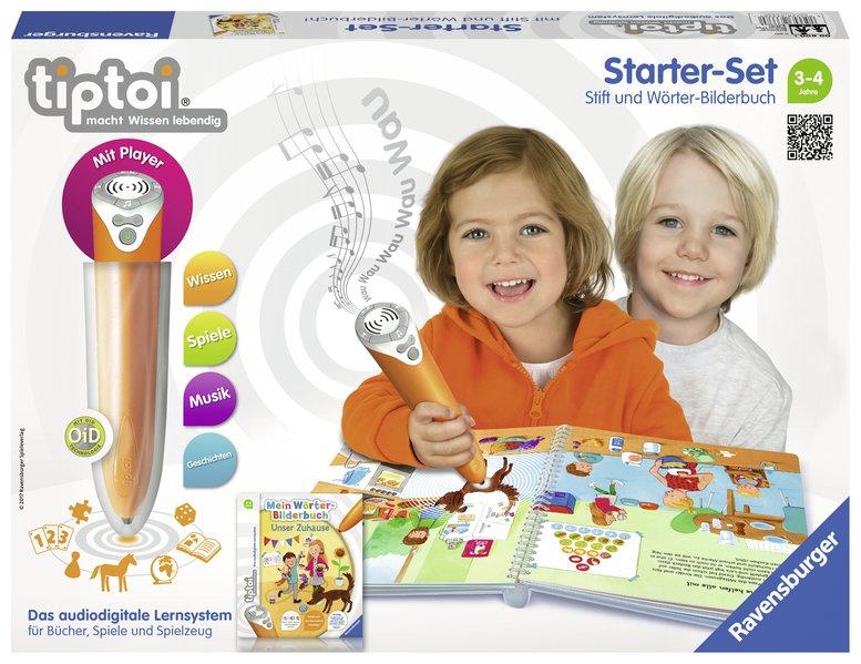 tiptoi® Starter-Set Mein Wörter-Bilderbuch Unser Zuhause als Spielwaren