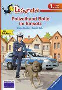 Polizeihund Bolle im Einsatz