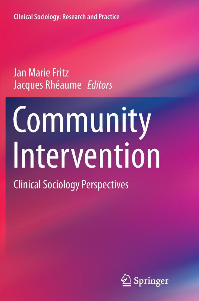 Community Intervention als Buch von