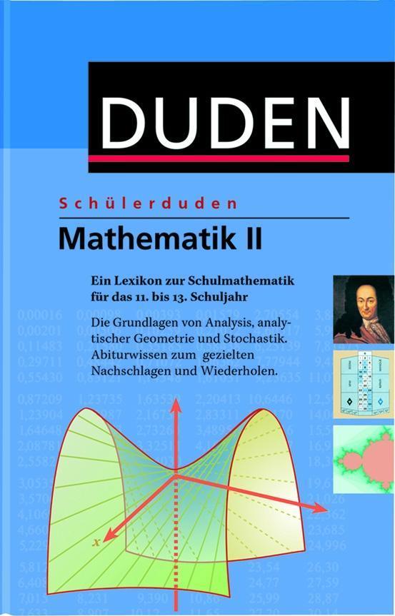 Duden. Schülerduden. Mathematik 2 als Buch