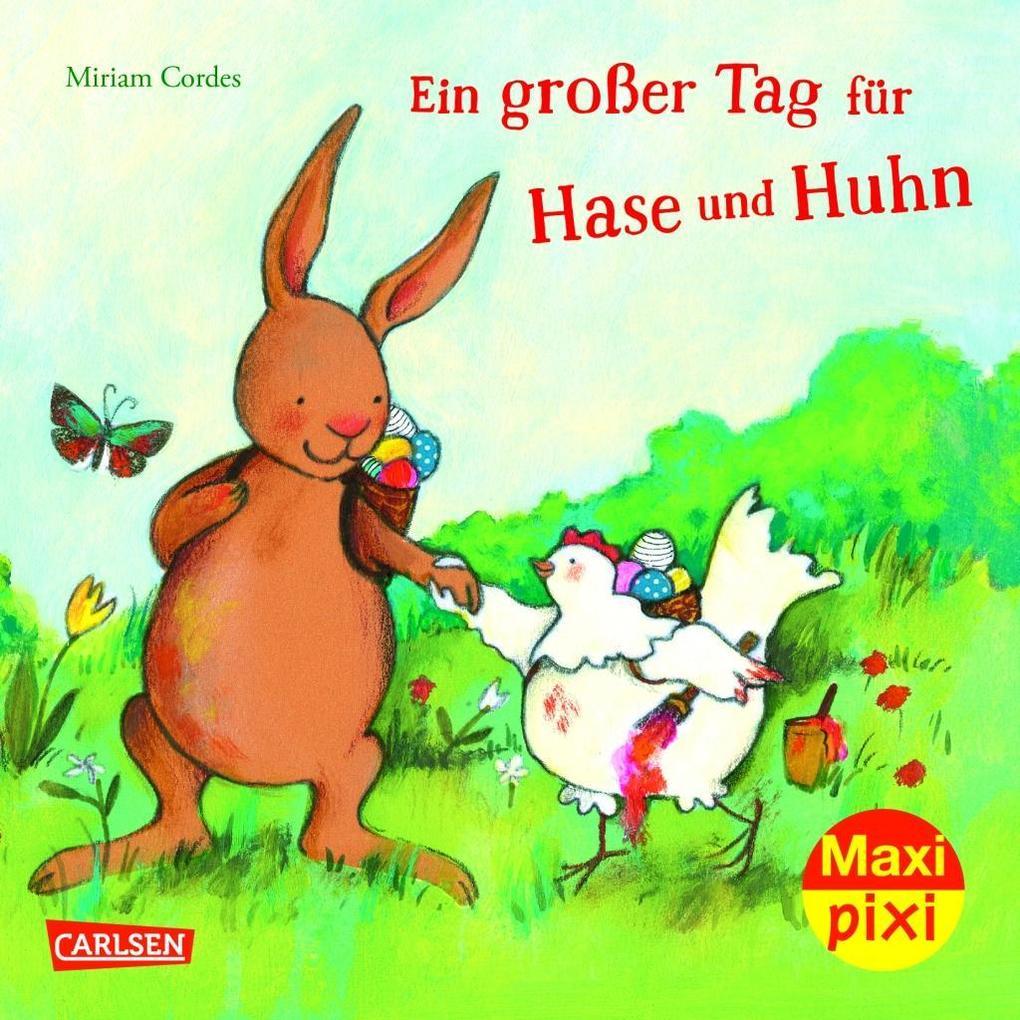 Maxi-Pixi Nr. 243: VE 5 Ein großer Tag für Hase...