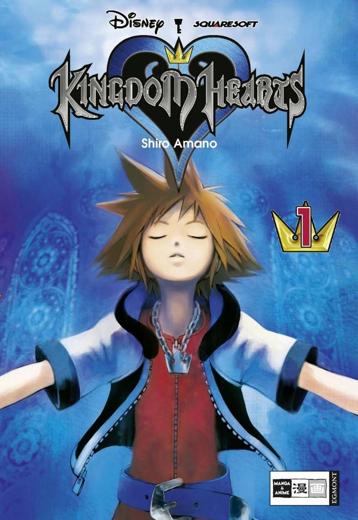 Kingdom Hearts 01 als Buch