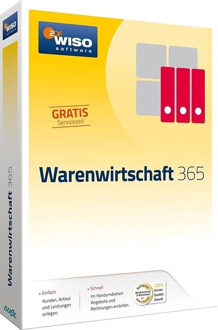 WISO Warenwirtschaft 365. Für Windows 7, 8 und 10