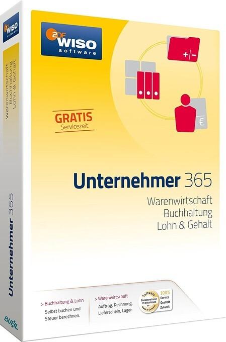 WISO Unternehmer 365. Für Windows 7, 8 und 10