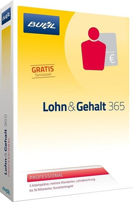 Lohn & Gehalt 365 Professional. Für Windows 7, ...