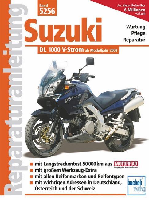 Suzuki DL 1000 V-Strom ab Modelljahr 2002 als Buch