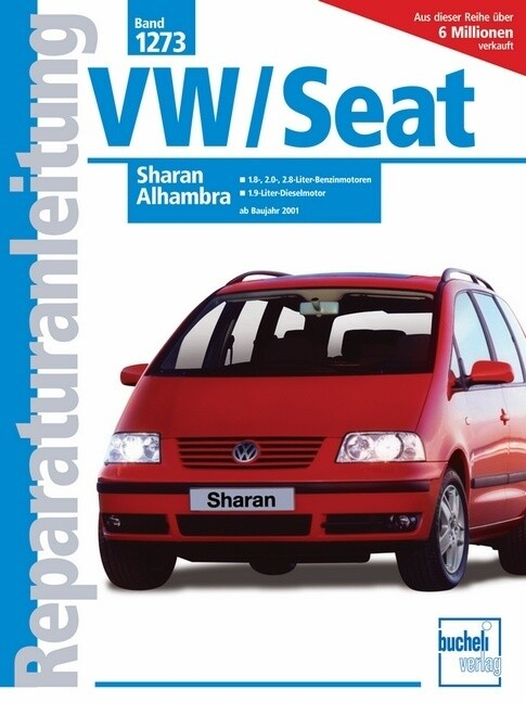 VW Sharan / Seat Alhambra ab 2001 als Buch