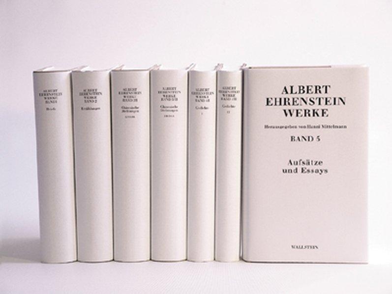 Albert Ehrenstein-Werke in 5 Bänden als Buch