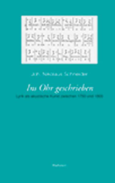 Ins Ohr geschrieben als Buch von Joh. Nikolaus ...