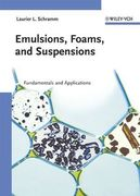 Emulsions, Foams and Suspensions