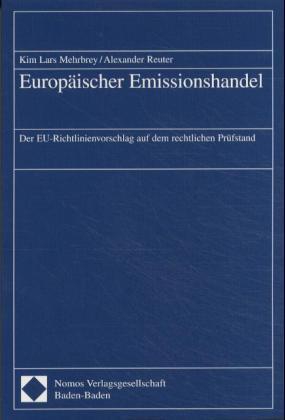 Europäischer Emissionshandel als Buch