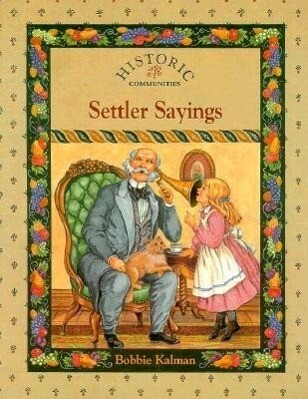 Settler Sayings als Taschenbuch