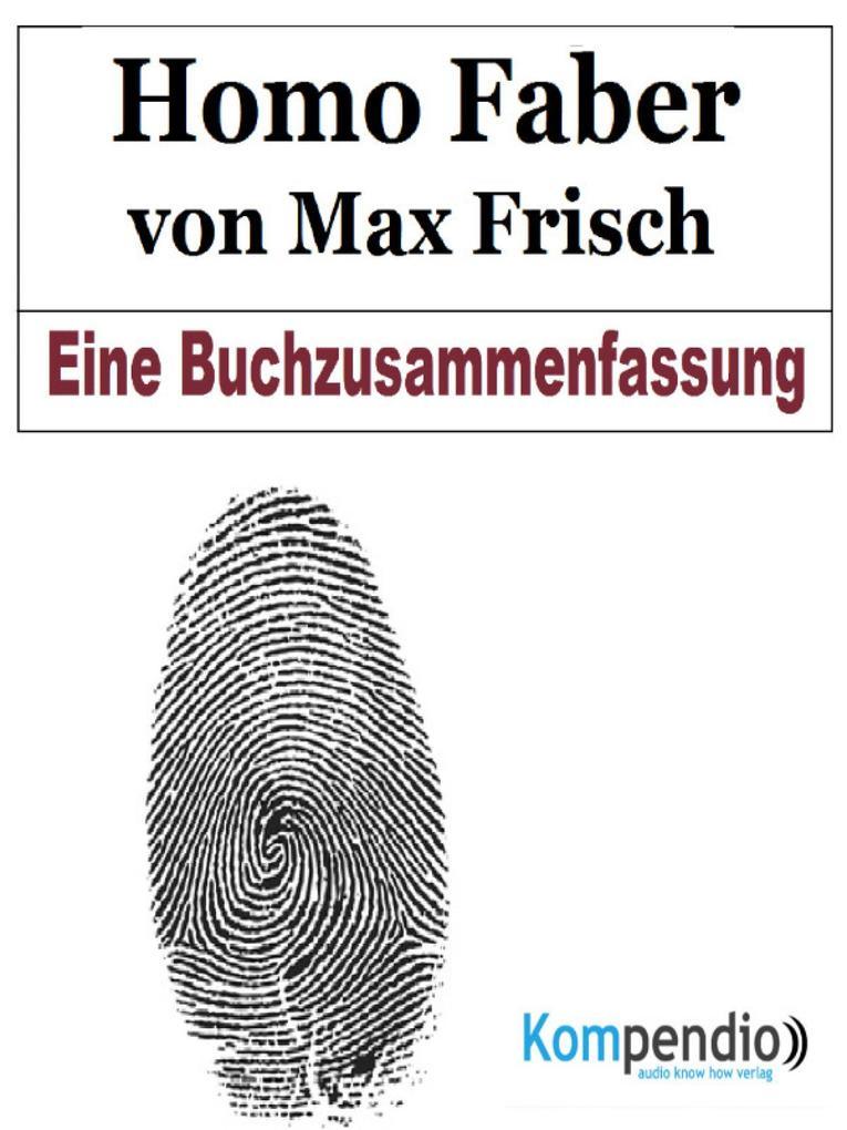 Homo Faber von Max Frisch als eBook epub