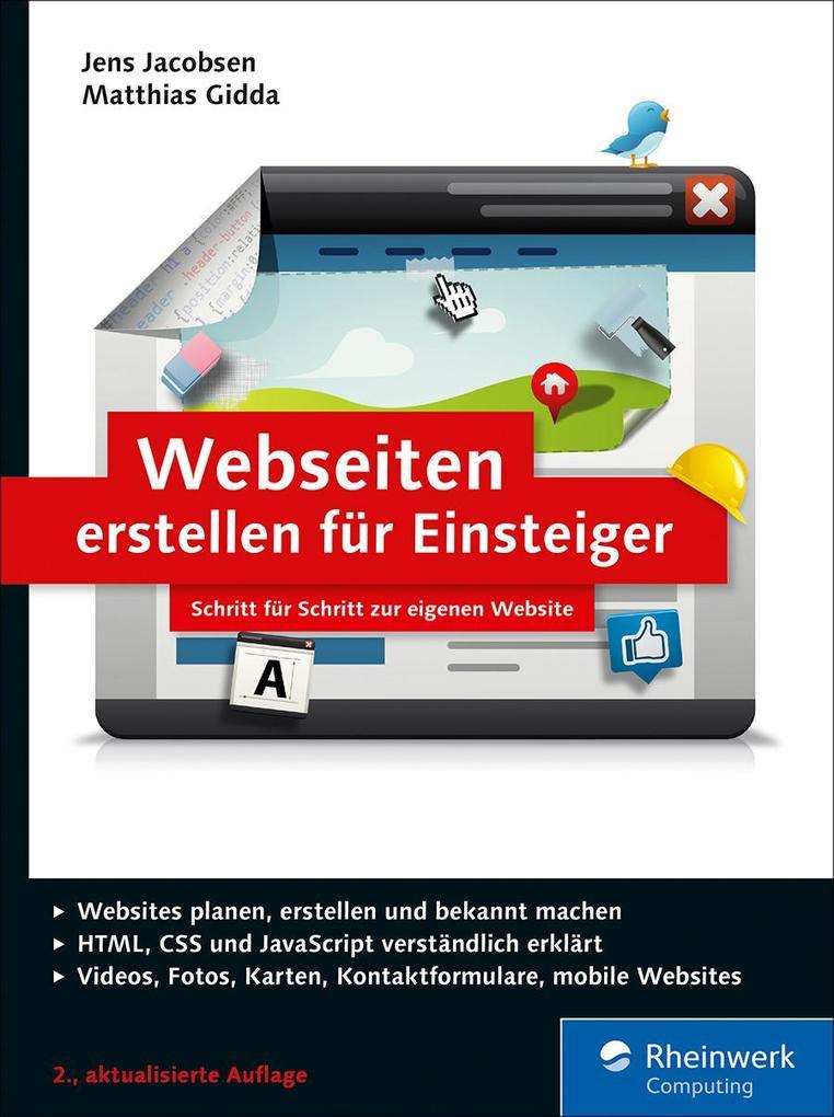 Webseiten erstellen für Einsteiger als eBook Do...
