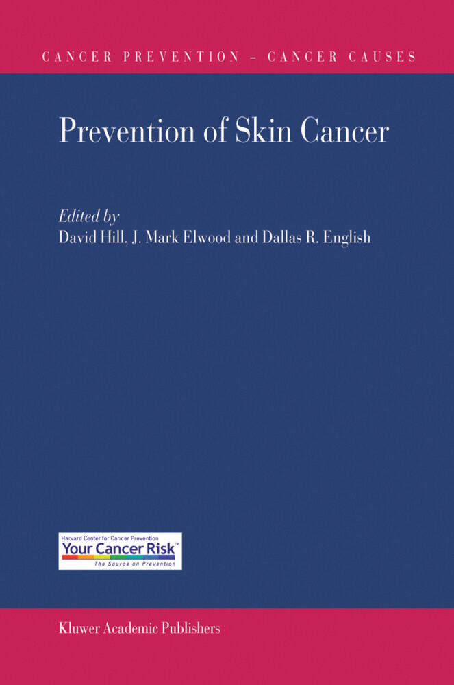 Prevention of Skin Cancer als Buch