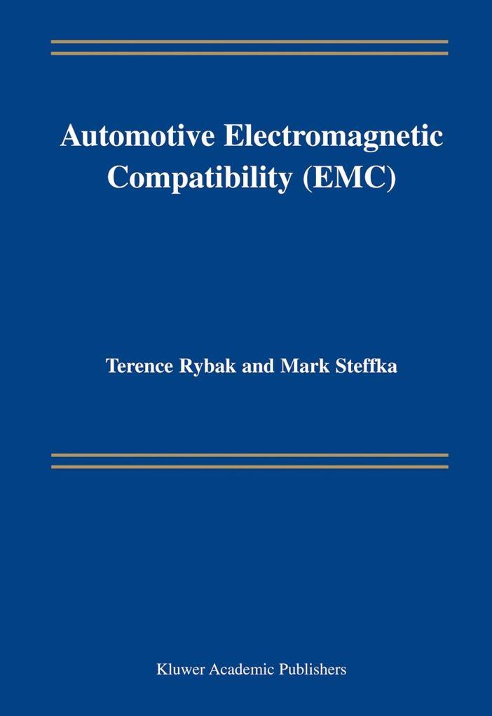 Automotive Electromagnetic Compatibility (Emc) als Buch